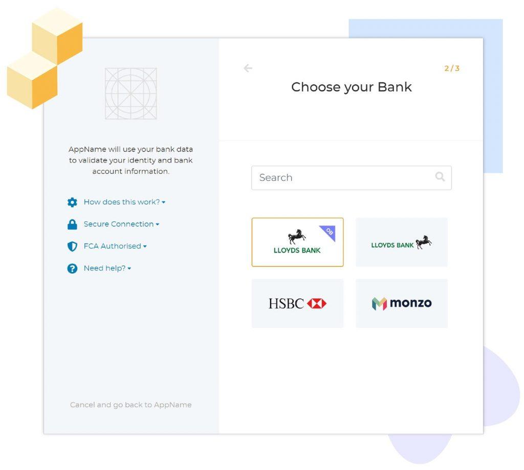 TrueLayer open banking app