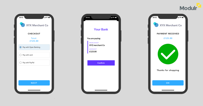 Payments with Modulr