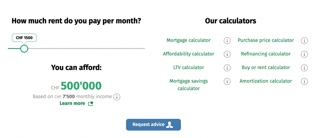 Example of great UX/UX design in FinTech from MoneyPark