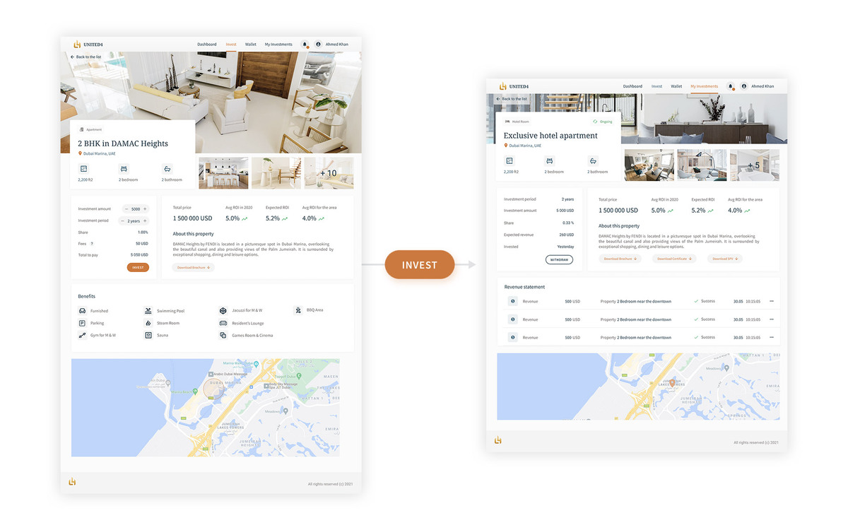 United4 Design - Individual Property view